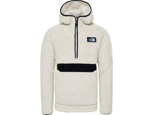 The North Face Campshire Pullover Hoodie Herr vintage white/tnf black